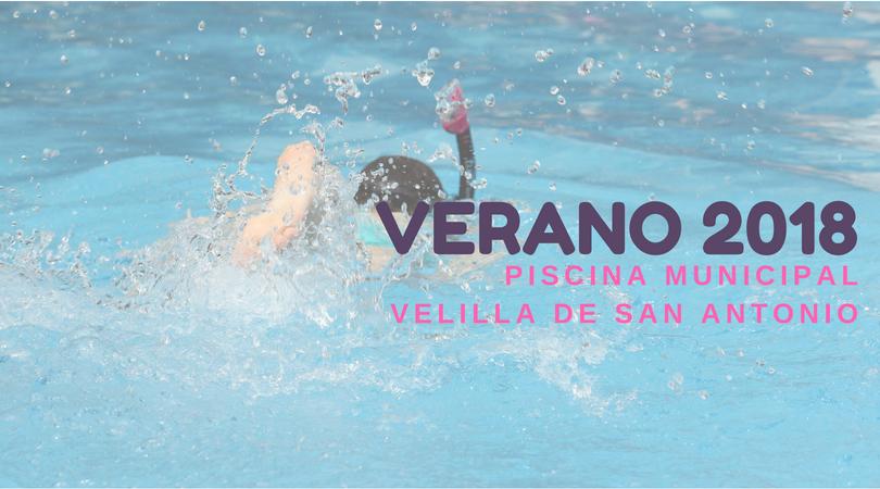 El próximo 15 de junio comenzará la temporada de la piscina de verano en Velilla de San Antonio con la jornada de puertas abiertas