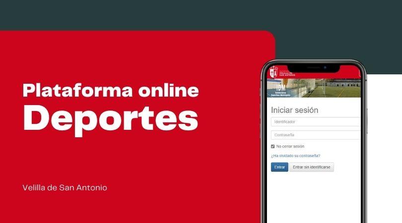 Nueva plataforma online en el área de Deportes