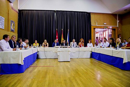 El sábado se celebró la sesión de constitución del Ayuntamiento y el nombramiento de Antonia Alcázar como alcaldesa