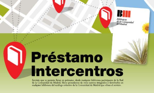 Información sobre la suspensión del servicio de préstamo intercentros