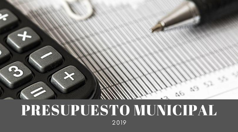 Aprobado el presupuesto municipal para el 2019