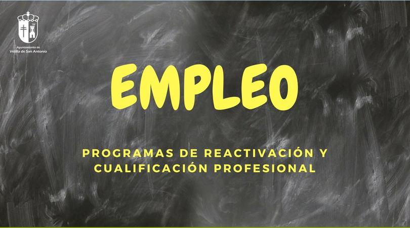 Concedidas las subvenciones solicitadas para programas de reactivación y cualificación profesional