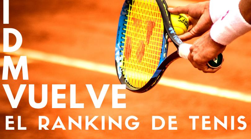 Reactivación Ranking Tenis 2020