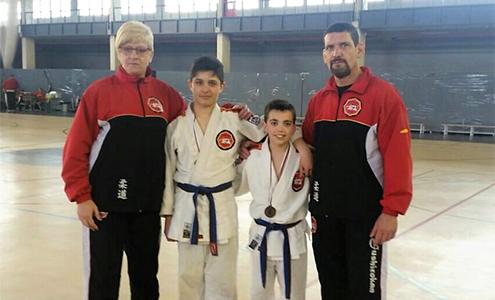 Dos judokas velilleros representarán a nuestro municipio en el Campeonato de España de Judo en Edad Escolar