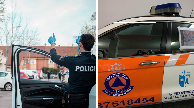 Policía Local y Protección Civil repartirán en los autobuses las mascarillas que el Gobierno ha puesto a disposición de los Ayuntamientos