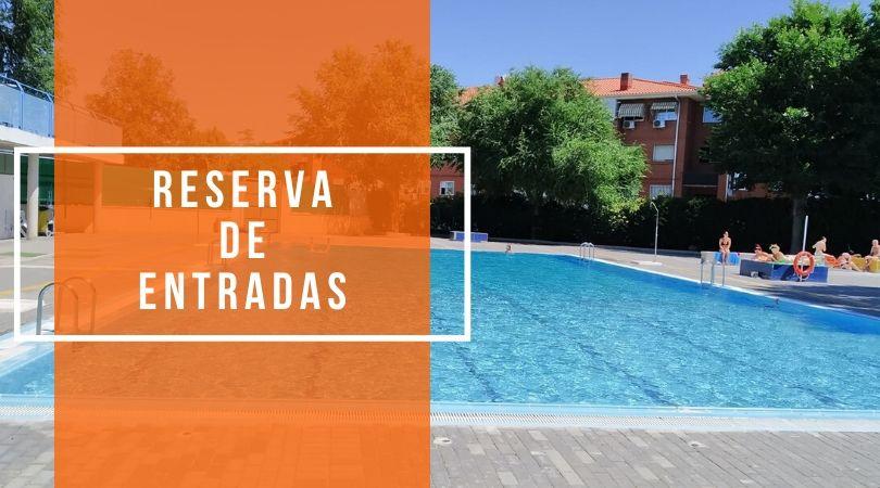 Información sobre reserva y pago de entradas para la piscina de forma presencial
