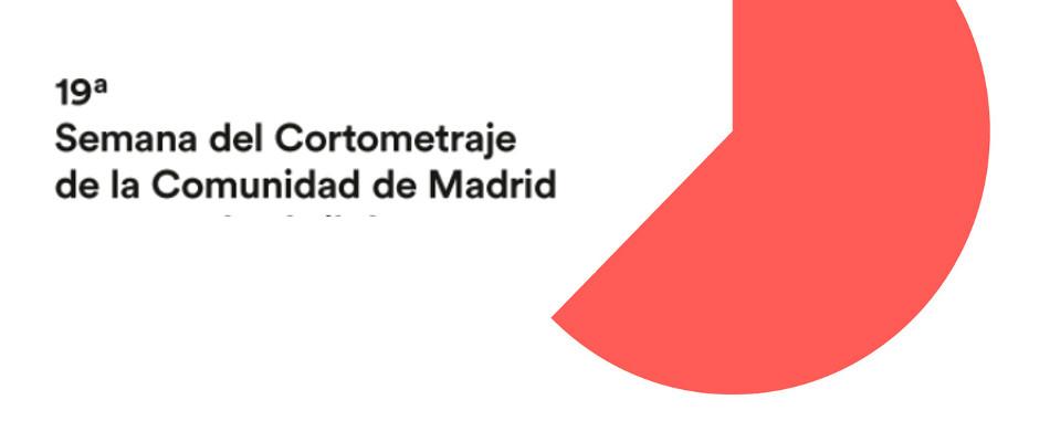 Velilla participará en la 19ª Semana del Cortometraje de la Comunidad de Madrid 2017