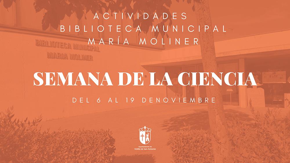 Actividades en la biblioteca con motivo de la celebración de la Semana de la Ciencia