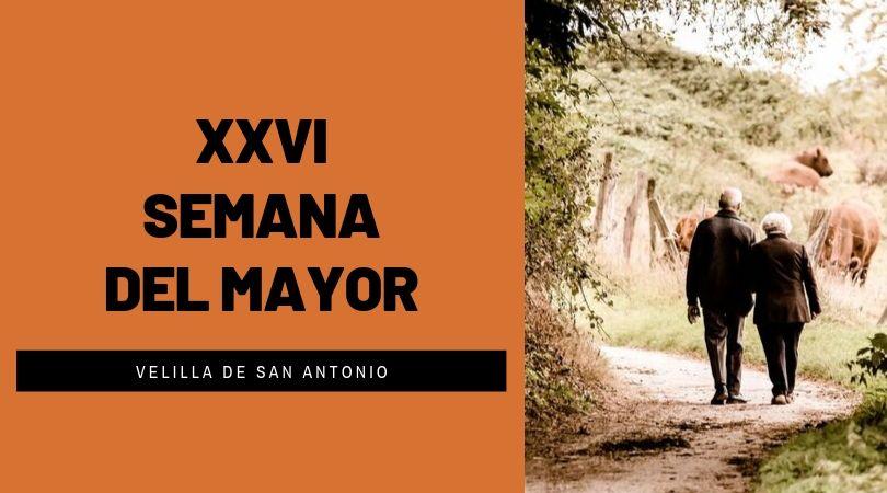 Velilla celebrará la XXVI Semana del Mayor