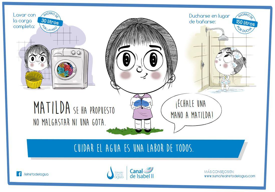 """El Ayuntamiento de Velilla se suma a la campaña """"Súmate al Reto del Agua"""""""