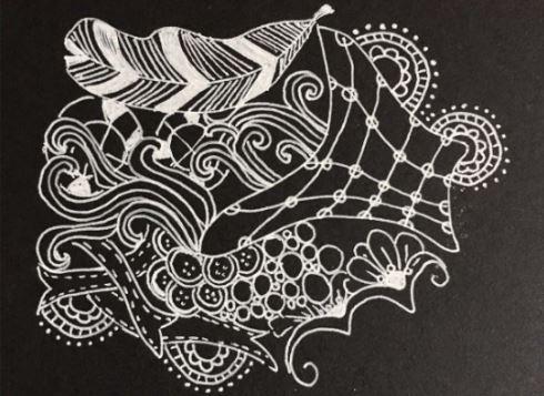 Taller de caligrafía y zentangle