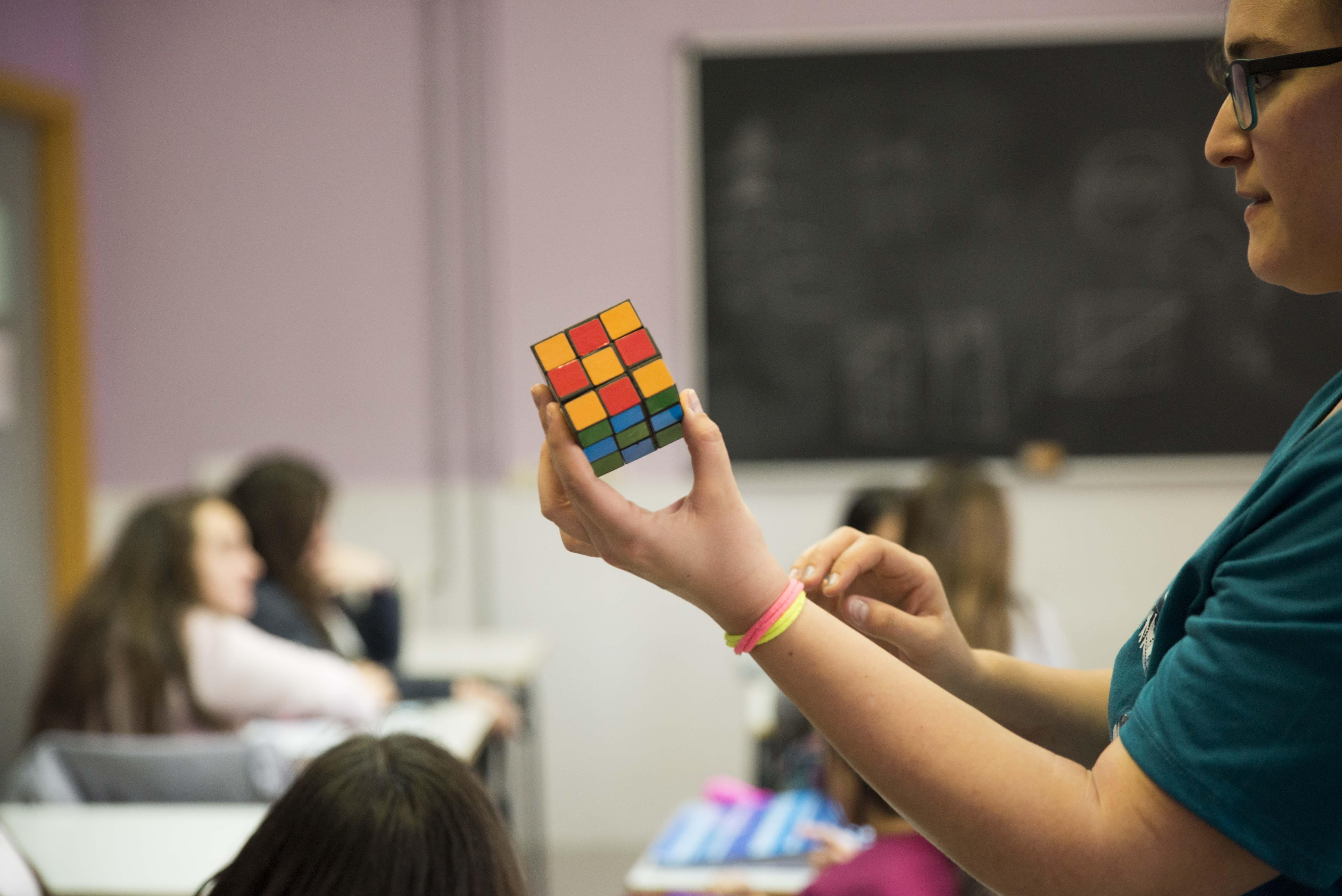 """Durante los meses de febrero y marzo, el """"Aula de las Matemáticas"""" visitó de nuevo los centros educativos del municipio."""
