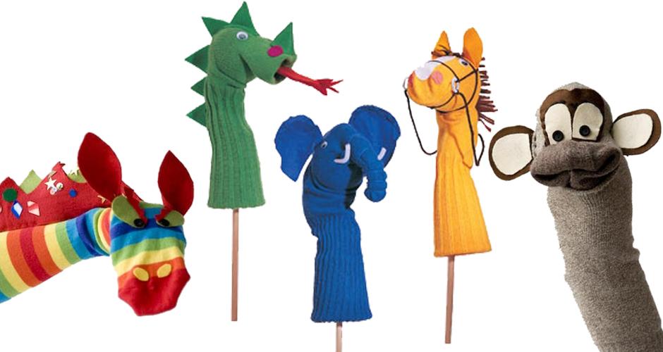 "Taller en familia ""Marionetas calcetinescas"""