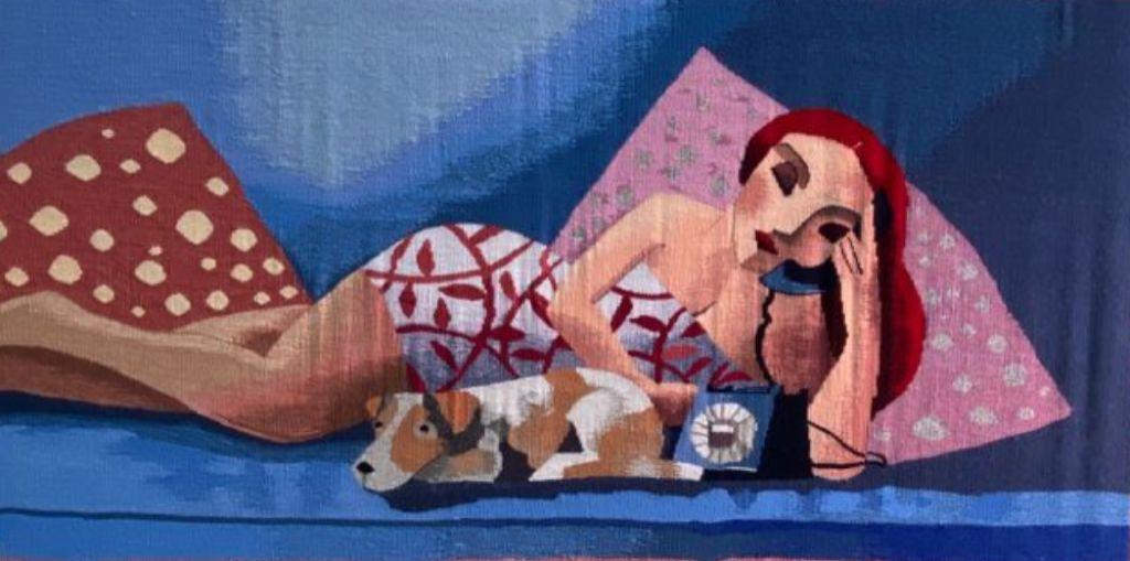 Exposición de tapices Asociación de Mujeres Alto Lizo