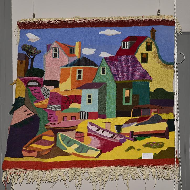 ¿Sabías que en Velilla se imparte un taller municipal de tapices?