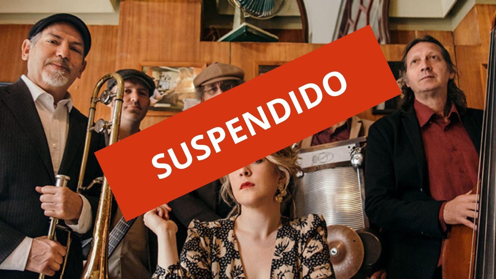"Tara & The Jazz Bombs - Festival ""La calle suena"" - SUSPENDIDO"