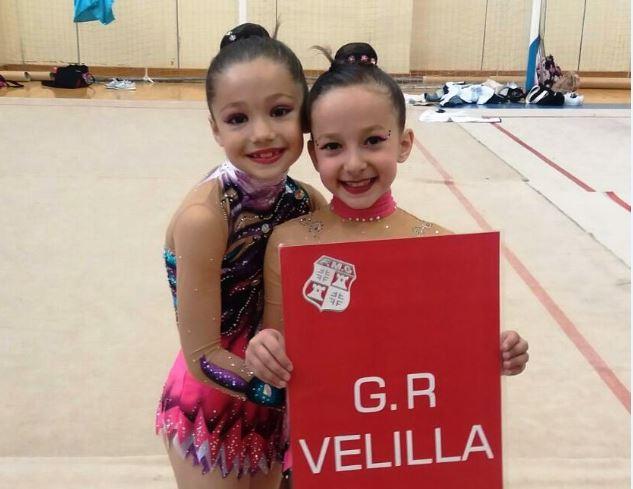 Nuevos éxitos del Club de Gimnasia Rítmica de Velilla