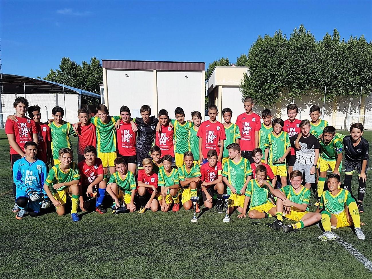 Celebración del Torneo Fútbol 11 en las categorías cadete e infantil del Atlético Velilla