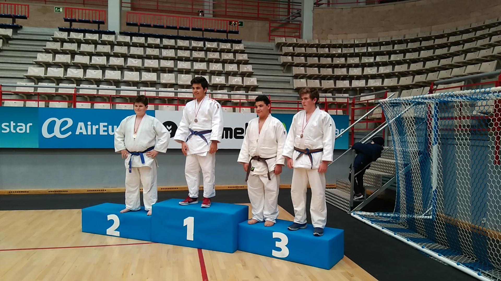 Juan Luis Moreno, obtuvo el tercer puesto en la competición de judo clasificatoria para el Campeonato de Madrid