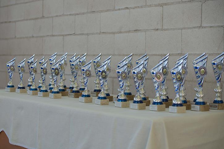 17 clubes de toda España participaron en el Trofeo de Patinaje Artístico