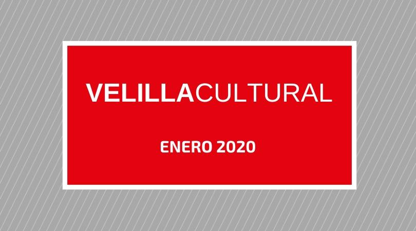 Programación Velilla Cultural Enero 2020