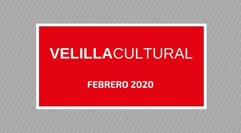Programación Velilla Cultural febrero 2020
