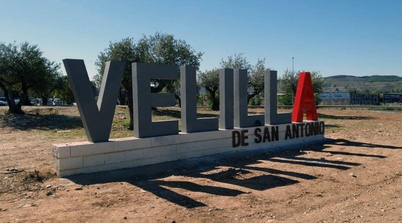 Nueva imagen en la entrada a Velilla desde la M-208