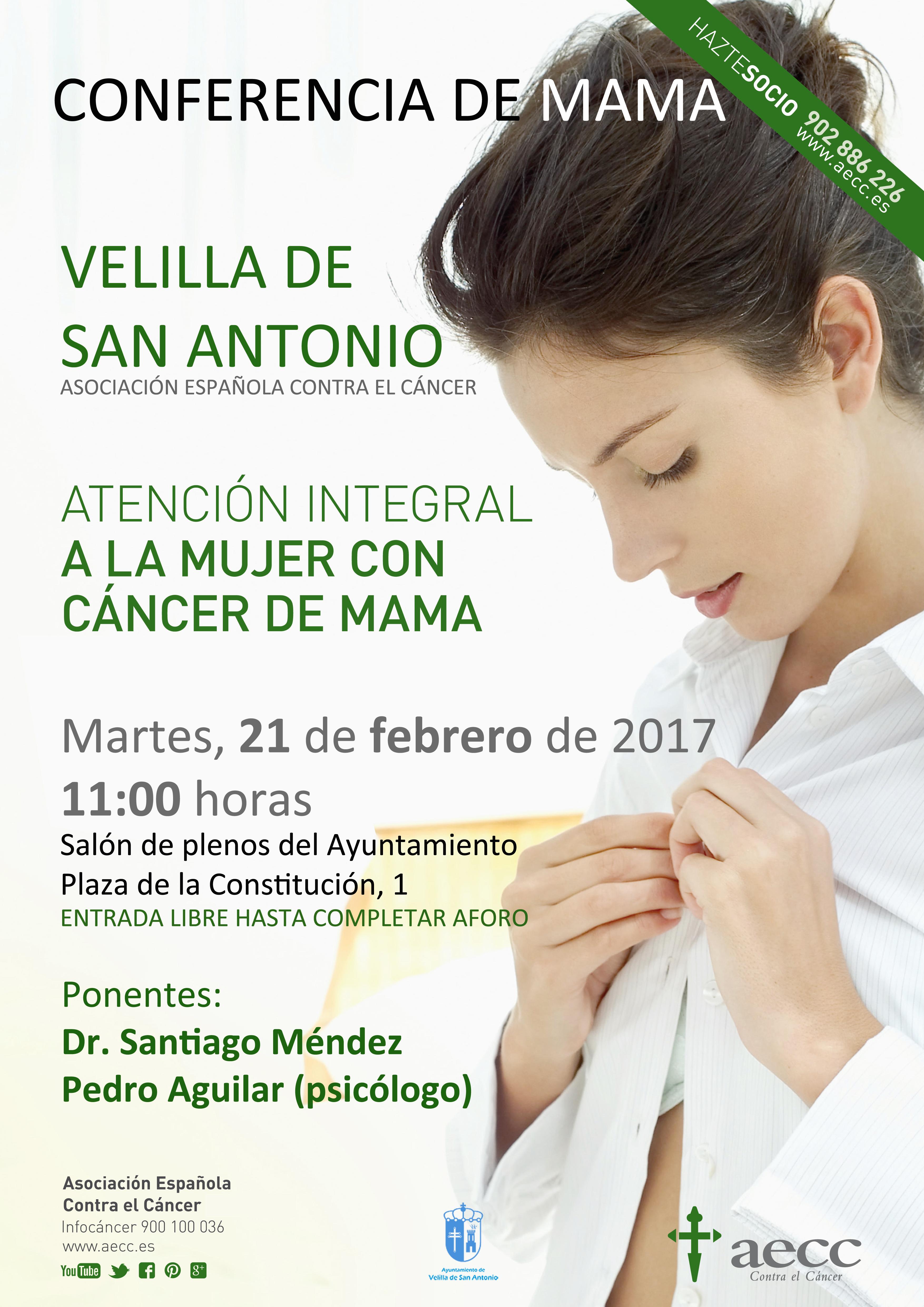 Conferencia sobre el cáncer de mama