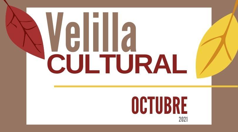 Programación Velilla Cultural octubre 2021