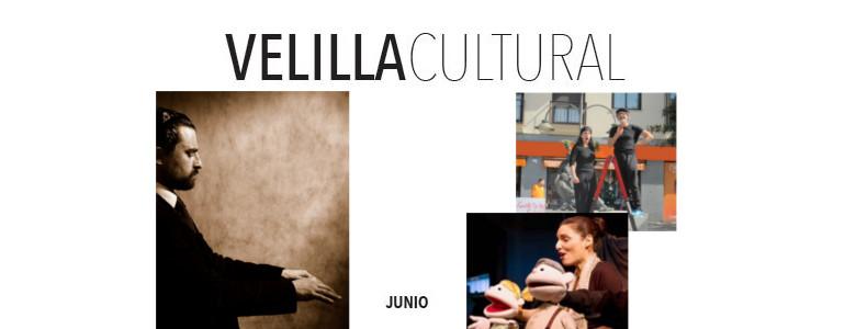 Programación Velilla Cultural Junio 2017