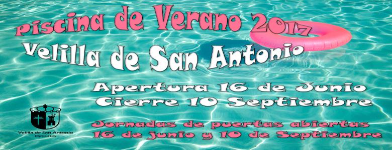 Apertura piscina de verano. Temporada 2017