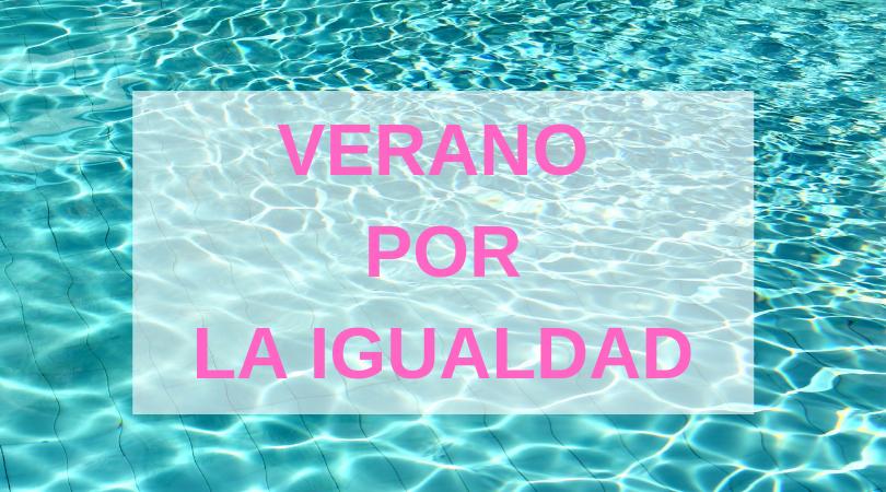 """La piscina de Velilla acogerá este viernes la actividad """"Verano por la igualdad"""""""