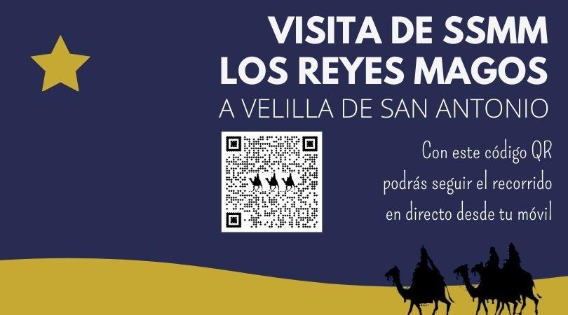 SSMM los Reyes Magos nos han concretado más detalles sobre su visita