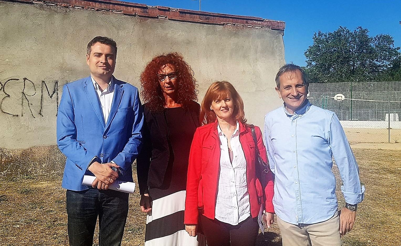 El Director del Área Territorial Madrid Este de la Consejería de Educación de la Comunidad de Madrid visitó los centros educativos del municipio