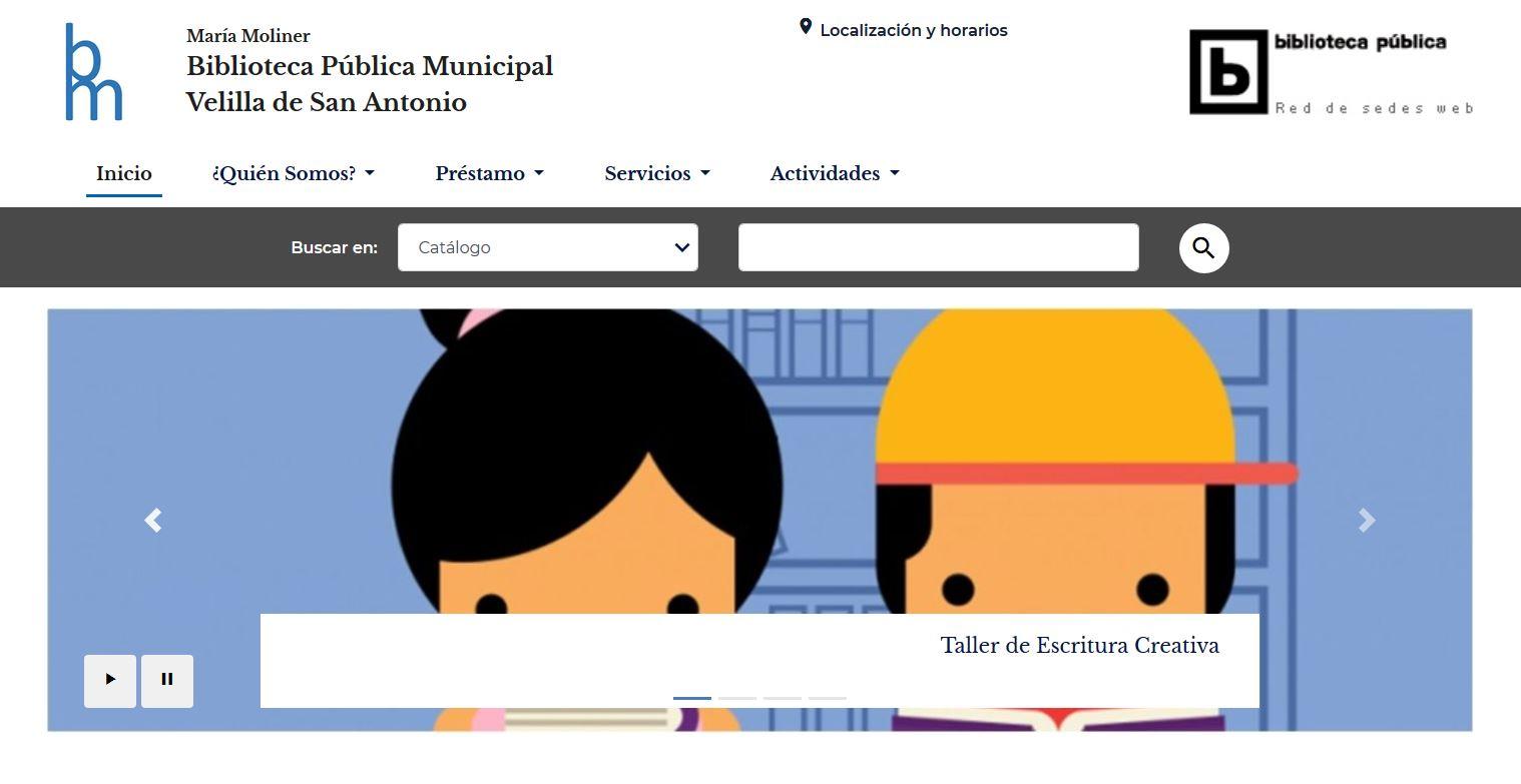 La Biblioteca María Moliner ya tiene página web