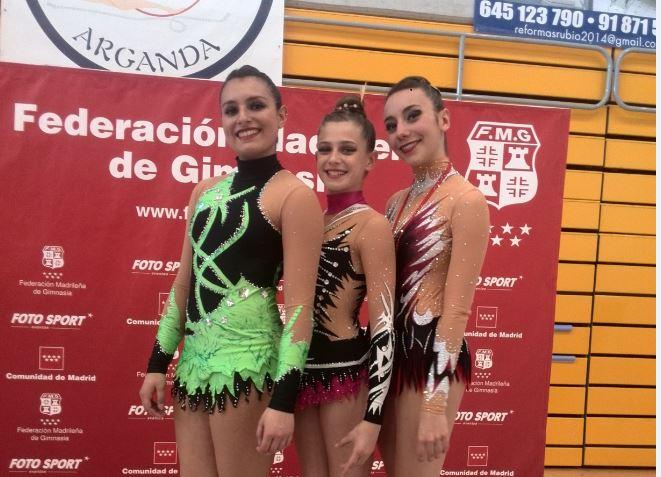 Cuatro gimnastas del CGR Velilla se clasifican para el Campeonato de España de Base