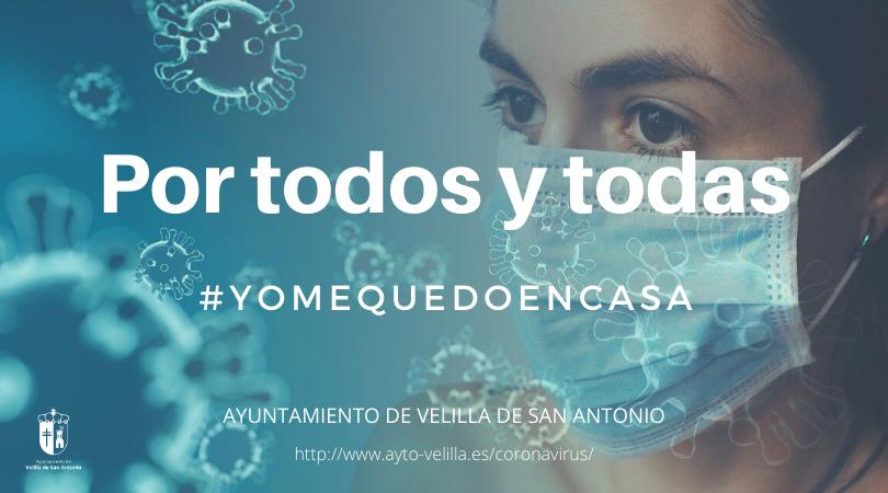 Por todos y por todas, #yomequedoencasa